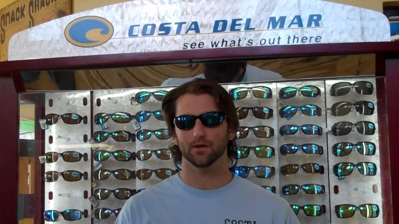 0f253e8fb8e Costa Del Mar Sunglasses  Polarization and Lens Types - YouTube