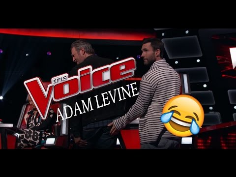 The Voice Outtakes Seasons 11 & 12 - Adam Levine Funniest Moments