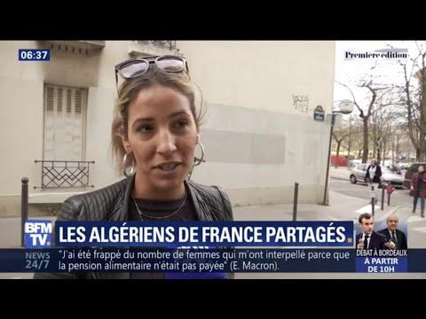 Que pensent les Algériens installés en France des manifestations contre Bouteflika?