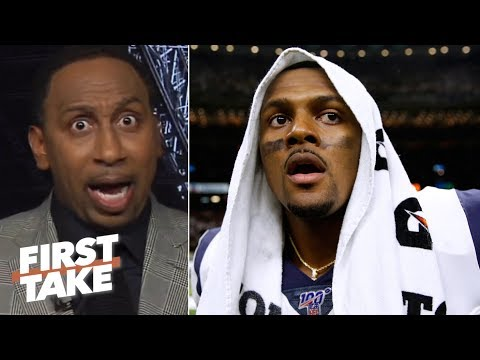 Deshaun Watson won't eclipse Drew Brees this season 鈥� Stephen A. | First Take