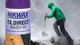 Polski: Nikwax TX.Direct impregnat do stosowania w praniu Przegląd Produktów