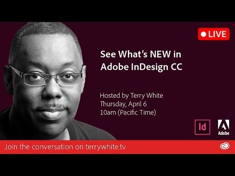 Whats New In Adobe Indesign Cc