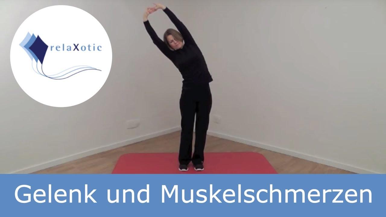 Übung: Gelenk und Muskelschmerzen - relaXotic - YouTube