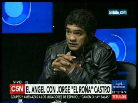 """C5N - El Angel de la Medianoche: Entrevista a Jorge """"El Roña"""" Castro"""