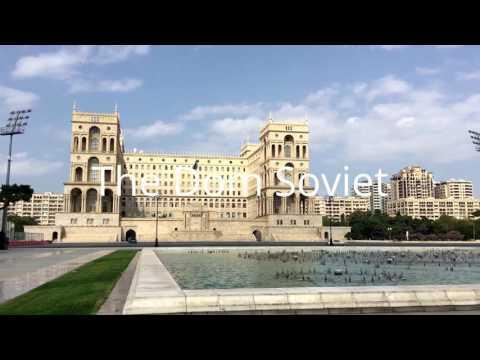 One day in fantastic Baku,  Azerbaijan