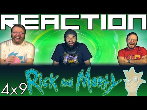 """Rick And Morty 4x9 REACTION!! """"Childrick Of Mort"""""""