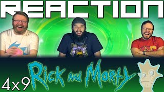 "Rick and Morty 4x9 REACTION!! ""Childrick of Mort"""