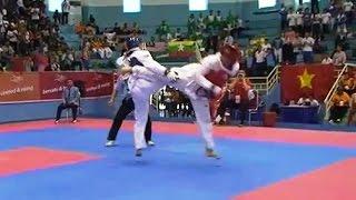SEA Games Jakarta INA YULIUS vs PHI JEEFREY