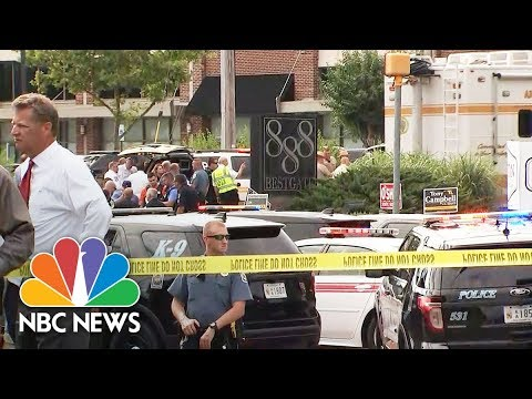 Multiple Killed In Capital Gazette Office Shooting In Annapolis, Maryland | NBC News