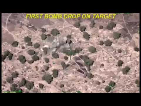 VIDEO: How We Dropped Bombs on Boko Haram Terrorists at Isamari- Nigerian Military