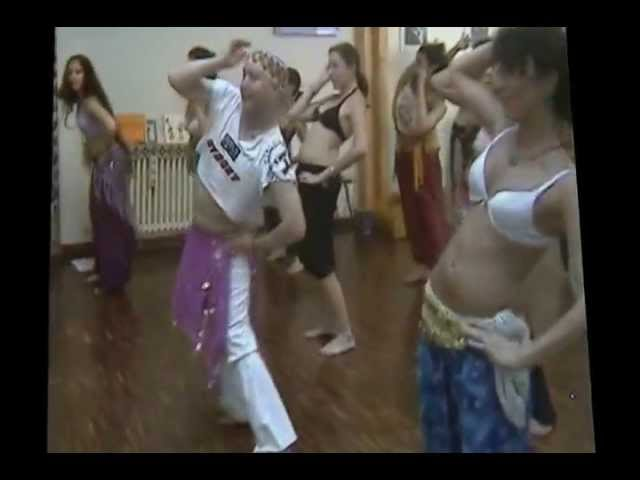 Simon Casablanca, DIANA HADDAD, El ASMAR, Belly Dance Lessons a ZAGARID Milano Travel Video