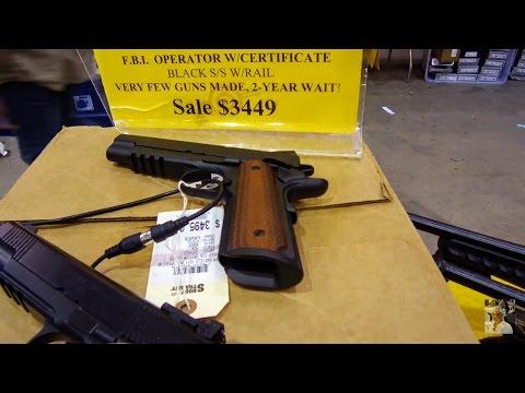 (4k) GUN SHOW!! Central Florida 2017