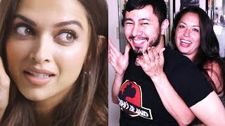 DEEPIKA PADUKONE TRIES 9 THINGS SHE'S NEVER DONE BEFORE | Reaction!