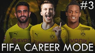 BORUSSIA DORTMUND FIFA CAREER MODE! - CHAMPIONS LEAGUE DISTRACTION!!! #3