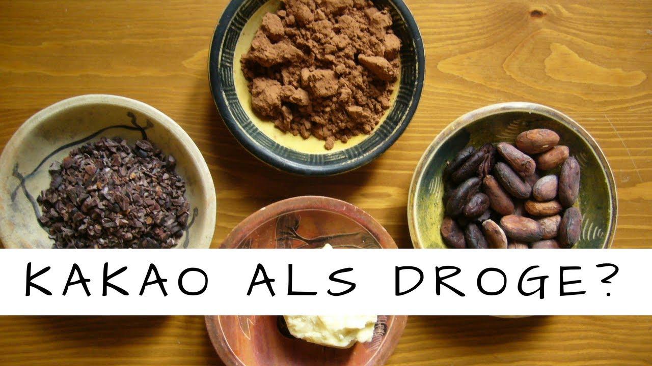 KAKAO- Superfood oder Droge?