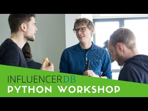 InfluencerDB #NCAEvent Python Workshop Münster