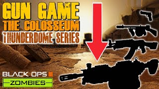 GUN GAME CHALLENGE - COLOSSEUM (Call of Duty Thunderdome Zombies)