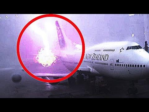 Что будет если, молния ударит в самолёт?