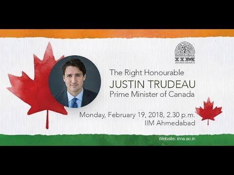 Live Webcast of The Right Honourable Justin Trudeau, Prime Minister of Canada