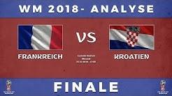 WM 2018 Finale Tipp: Frankreich - Kroatien Analyse inkl. Prognose