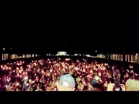 Amazing Grace at UVA vigil
