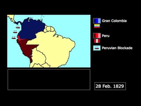 [Wars] The Gran Colombia-Peru War (1828-1829): Every Week