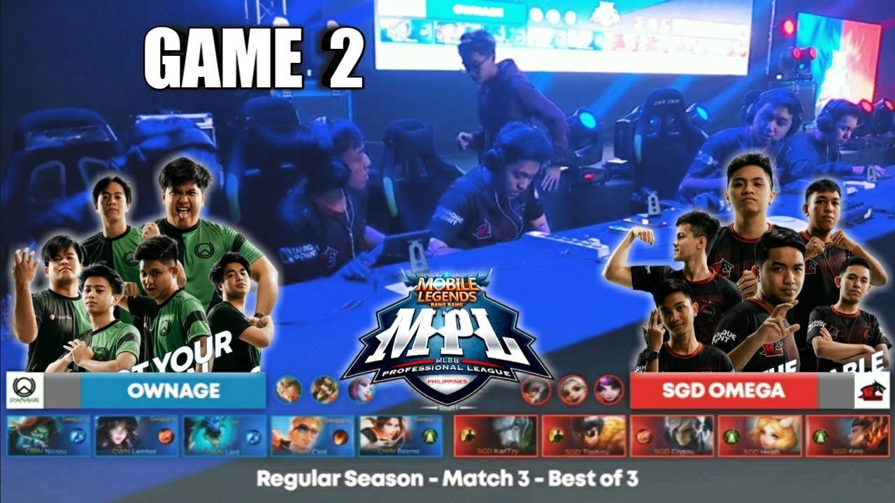Game2 SGD Omega VS Ownage   MPL Philippines Season 4