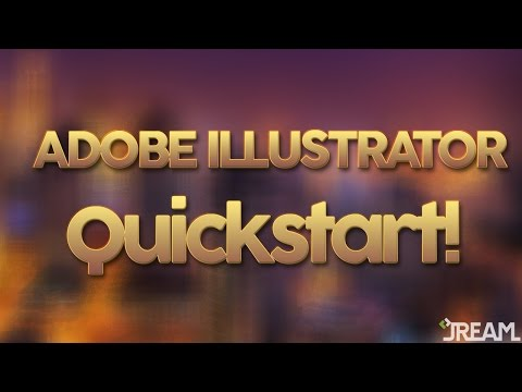 Adobe Illustrator CS5 Tutorial 1 | Quickstart!
