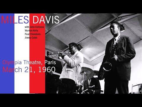 Miles Davis with John Coltrane- March 21, 1960 Olympia Theatre, Paris