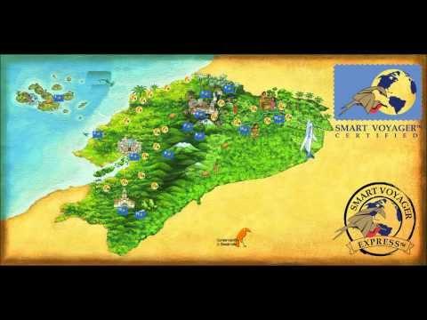 Smart Voyager mapa turismo - Conservacion & Desarrollo www.smartvoyager.org