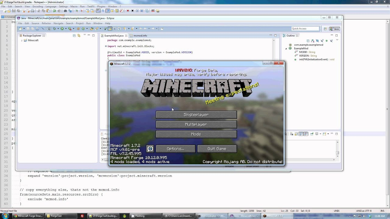 TUTORIAL] Getting Started with ForgeGradle - ForgeGradle - Minecraft