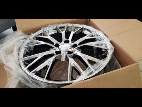 Stingray corvette z06 replica wheels