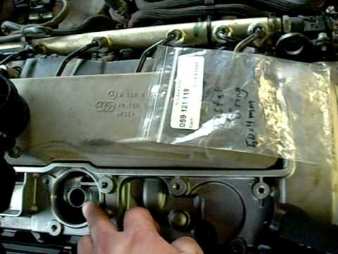 2005 E320 Cdi Air Oil Separator Leak Repair Video Avi