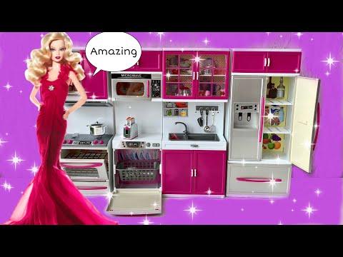 Новая Кухня для Барби/Barbie Kitchen Playset