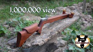 Slingshot gun ปืนยิงหนังสติ๊ก ...