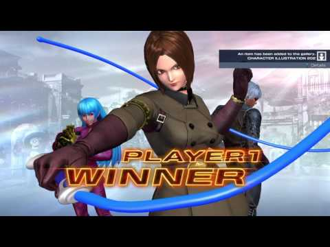 THE KING OF FIGHTERS XIV PS4 Version 2.00 Story Mode Team Whip