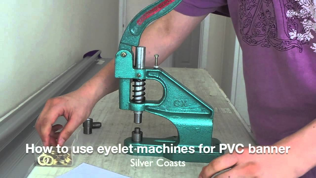 eyelet machine