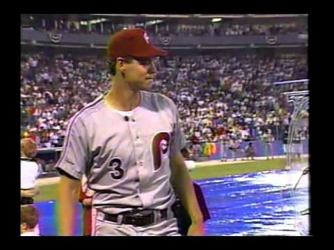 Atlanta Braves celebrate Dale Murphy Night - June 4, 1991