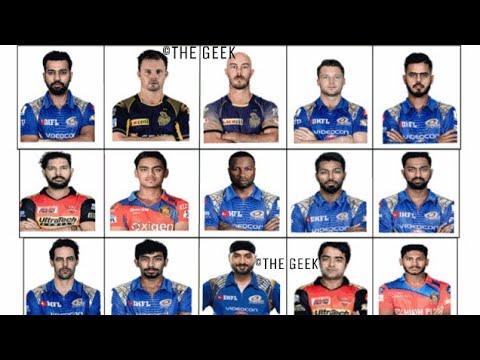 IPL 2018 Mumbai Indians Team Squad | Indian Premium League 2018 Mumbai Indians Player List | Ipl 11