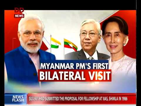 Myanmar: PM meets Kyi, 11 key agreements signed