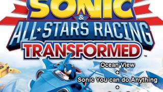 Ocean View + Sonic You can do Anything + Super Sonic Racing - …