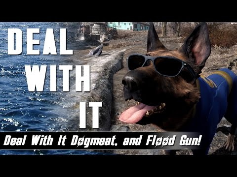 Fallout 4 Mods Week 27 - Deal With It Dogmeat and Flood Gun!