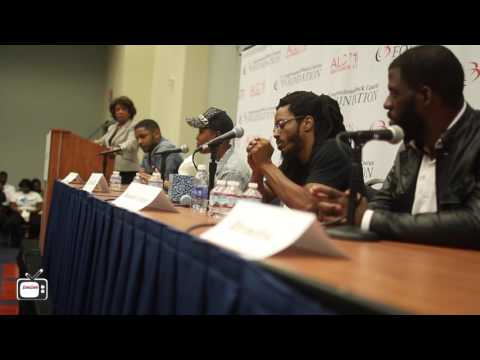 """Young, Black And Gifted"" Panel Ft. Substantial, RAtheMC, Bomani Armah and Rhymefest (HD)"