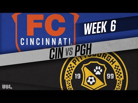 FC Cincinnati vs Pittsburgh Riverhounds: April 21, 2018