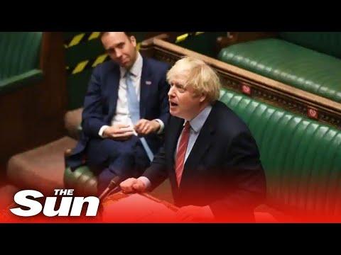 Live: Boris Johnson statement on new Covid-19 lockdown restrictions