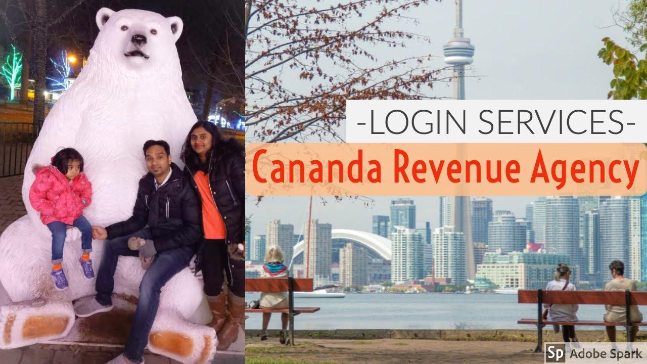 Canada Revenue Agency Login Services Youtube