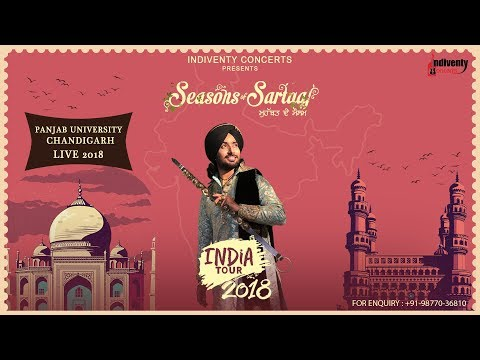 Satinder Sartaaj PU Live | Seasons Of Sartaaj | India Tour 2018 | Full Show