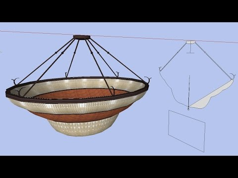 Remodel a Ceiling Light Fixture to simplify the geometry.