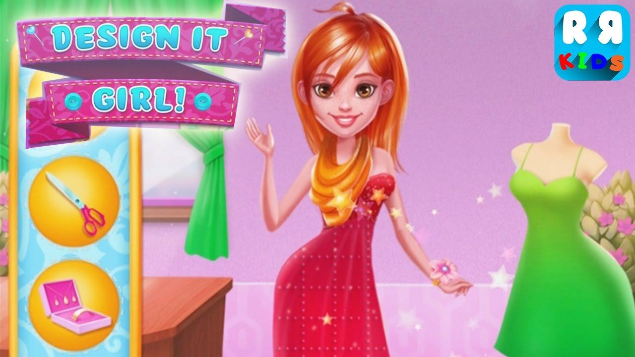 Design It Girl Crazy Fashion Salon By Tabtale Ltd New Best Desain App For Kids Youtube