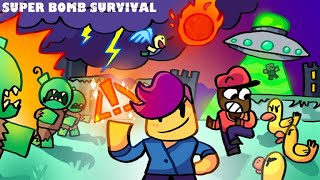 BADA BOP BOOM POW!!! Super Bomb Survival | Roblox |